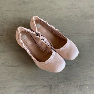 Toms | Vegan Leather Ballet Flats Nude Pink